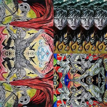 Collage 23 by Mark Bradley