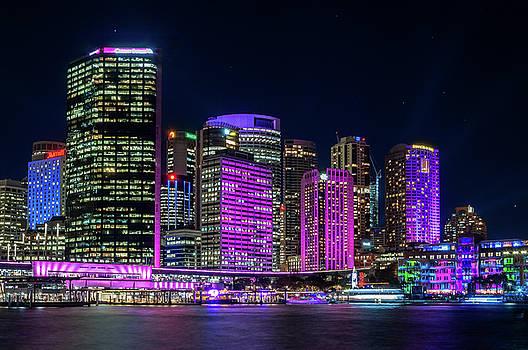 Daniela Constantinescu - Color in the City -Vivid Sydney