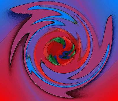 Color Swirl by Mehdi Mehrvarz