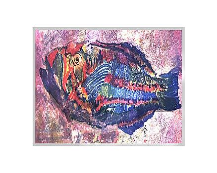 Colored Fish by Patricia Calabro