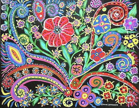 Colorful night by Gina Nicolae Johnson