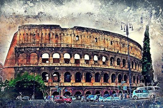 Justyna Jaszke JBJart - Colosseum Rome