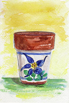 Columbine Container by Julie Maas