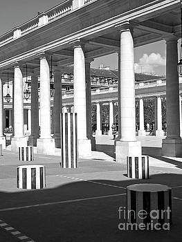 Columns and Colonnades of the Palais Royal by Alex Cassels