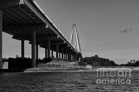 Dale Powell - Bridge Columns by the Sea