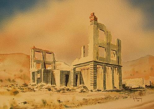 Cook Bank Rhyolite Nevada by Kevin Heaney
