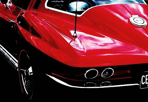 Corvette Stingray by Angela Davies