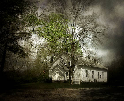 Country Church by Cynthia Lassiter