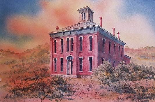 Courthouse Belmont Ghost Town Nevada by Kevin Heaney