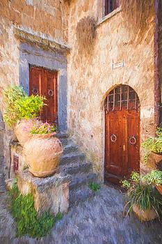 David Letts - Courtyard of Tuscany