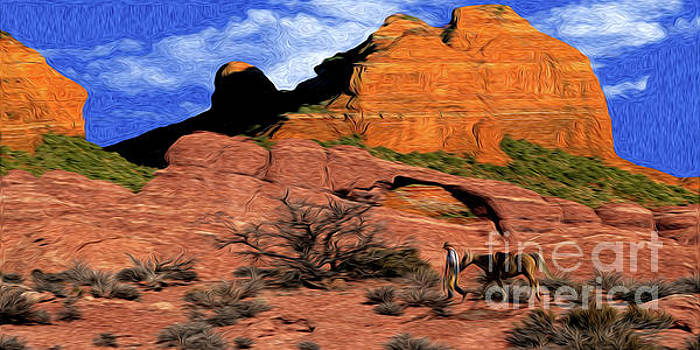 Cowboy Sedona VER 1 by Larry Mulvehill