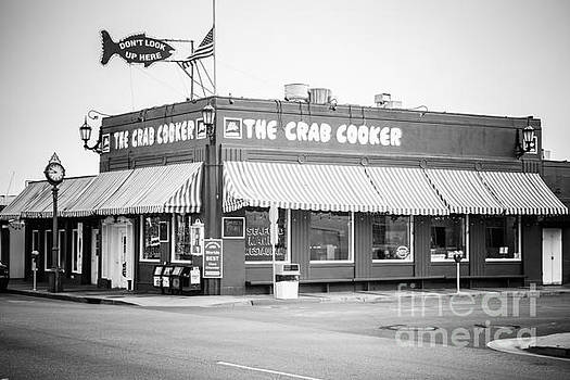 Crab Cooker Newport Beach Black and White Photo by Paul Velgos