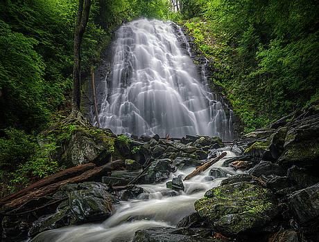 CrabTree Falls North Carolina by Mike Koenig