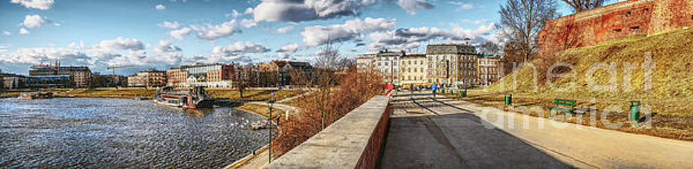 Justyna Jaszke JBJart - Cracow panorame