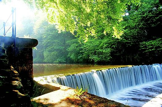 Cramond Waterfall 2 by Nik Watt