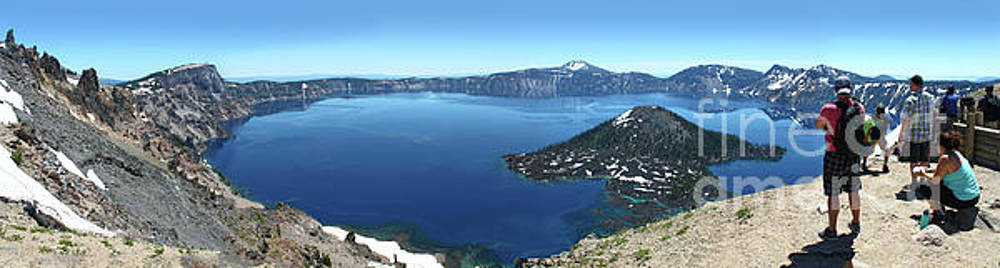 Gregory Dyer - Crater Lake in Southern Oregon