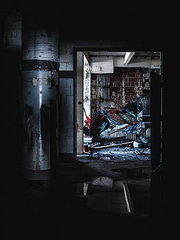 Creepy Abandoned Building by Dylan Murphy