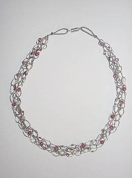 Crochet Necklace by Brianna Lynn