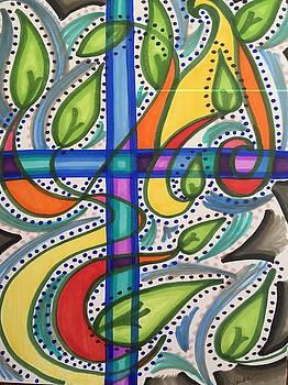 Cross by Vonda Drees