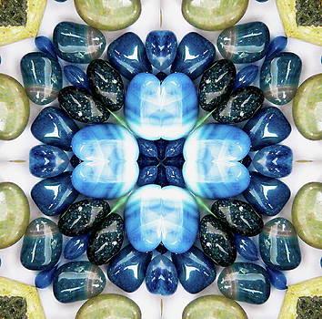 Crystal mosaic by Jesus Nicolas Castanon