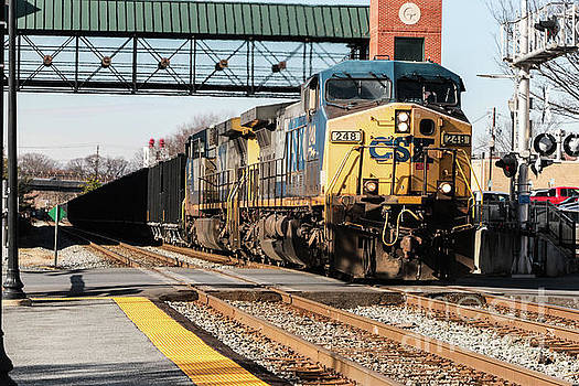 CSX Engine Gaithersburg Maryland by Thomas Marchessault