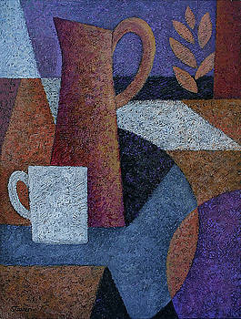 Cup and Pitcher by Dan Steven