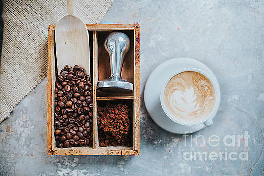 Cup of delicious coffee by Viktor Pravdica