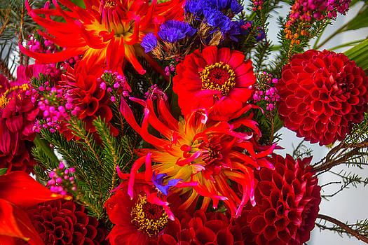 Dahlia Bouquet by Garry Gay