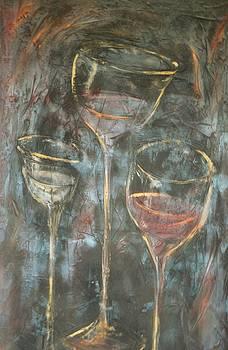 Dancing Glasses by Chuck Gebhardt