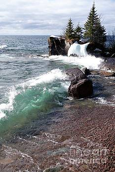 Dancing Waves by Sandra Updyke