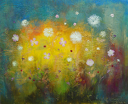 Dancing wildflowers series by Joya Paul