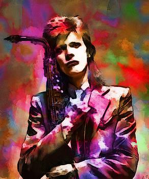 David Bowie 003 by Sergey Lukashin