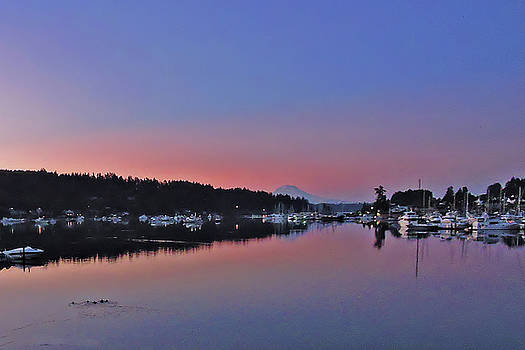 Dawn at Gig Harbor by Jack Moskovita