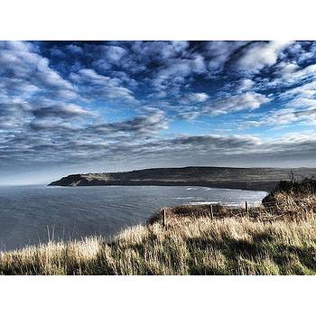 North Yorkshire coast along the Cleveland Way  by Rebecca Bromwich