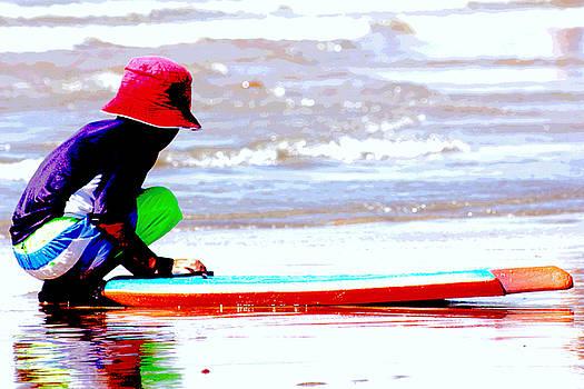 Day in Huntington Beach by Carol Tsiatsios