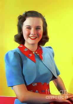 John Springfield - Deanna Durbin, Vintage Movie Star