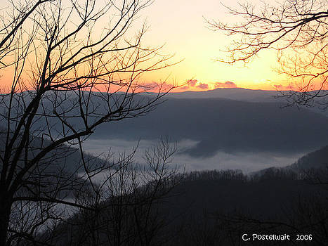December Sunrise by Carolyn Postelwait