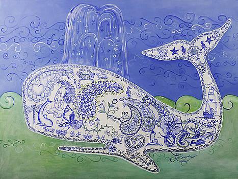 Delph Whale by Theresa LaBrecque