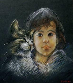 Denese and Cat by Tony Calleja