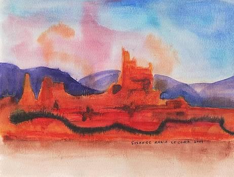 Suzanne  Marie Leclair - Desert Rocks