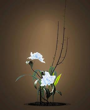 Digital Flower Arrangement by GuoJun Pan