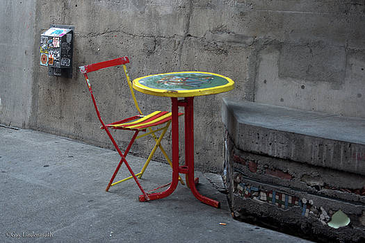 Discarded Table by Guy Lindenmuth