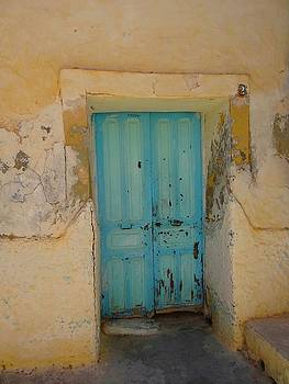 Djerba Street Art - Doorway by Exploramum Exploramum