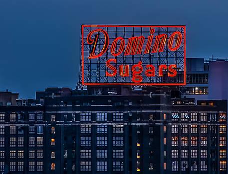 Domino Sugars Sign by Wayne King