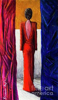 Riccardo Maffioli - Donna in rosso