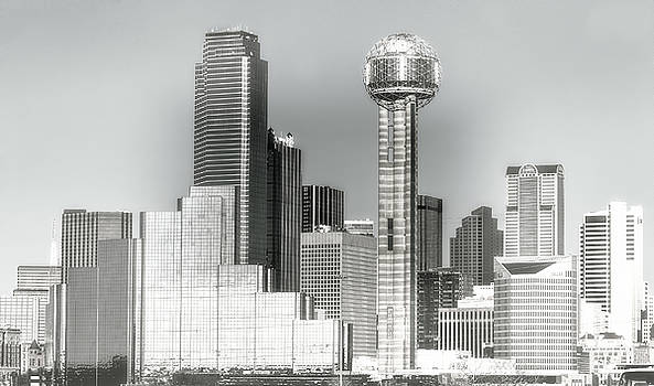 Downtown Dallas by Joan Bertucci