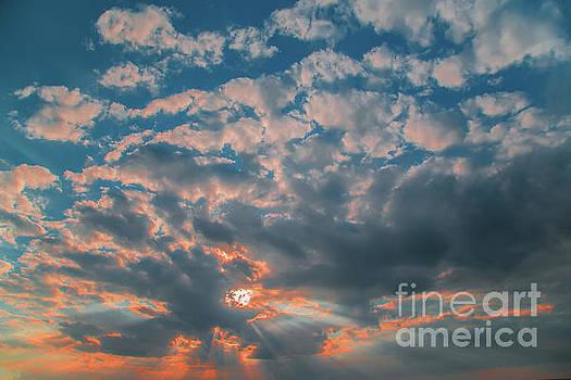 Dramatic Sunset by Aleksey Tugolukov
