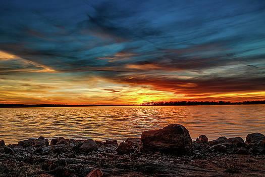 Dramatic Sunset by Doug Long