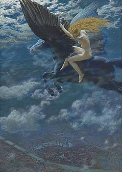Dream Idyll by Edward Robert Hughes