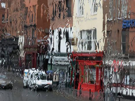 Dublin in the Rain - 2 by Rob Huntley